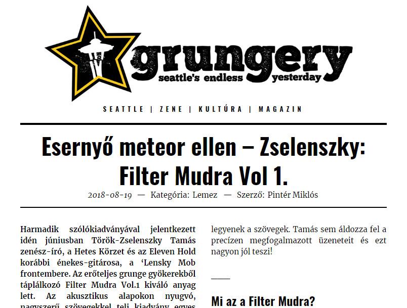 Grungery - Filter mudra Vol. 1.