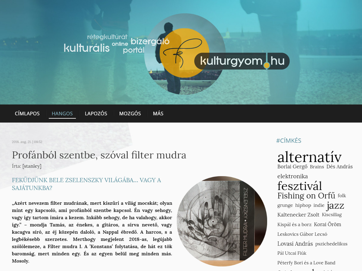 Kultúrgyomon - Filter mudra Vol. 1.